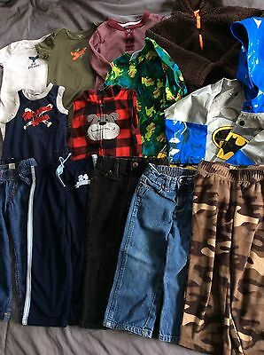 Toddler Boy Size 2T Spring Summer Clothing Jackets Pants Lot 13 Pieces