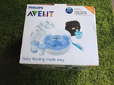 Philips Avent Classic+ Bottle Feeding Essential Set - Microwave Steriliser