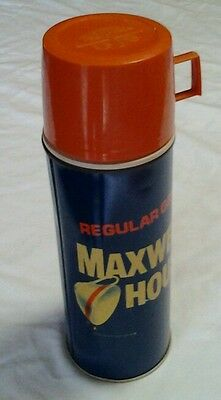 Vintage Maxwell House Coffee Thermos, Made In Norwich Conn.