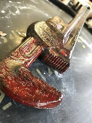 Bloody Wrench Weapon Halloween Prop Horror Realistic Costume Accessory