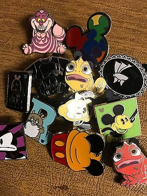 DISNEY PINS 25 pin MIXED LOT FREE SHIPPING GET YOUR TRADE ON no doubles