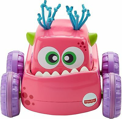 Fisher-Price Press 'N Go Monster Truck Pink