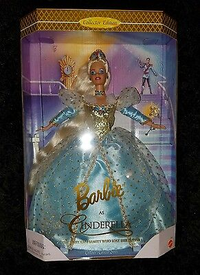 Barbie as Cinderella Collector Edition Doll New In Box 1996
