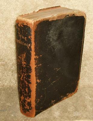 """Leather Bound Issues of 1910 """"The Wallace"""" Wallace & Sons Silversmiths"""