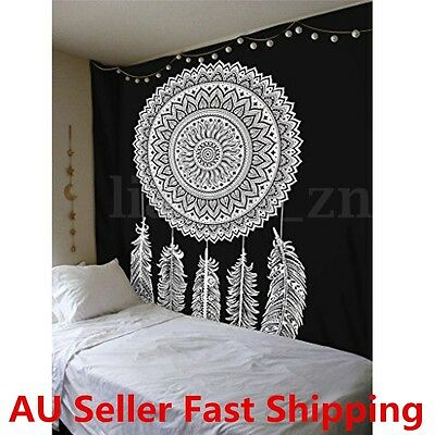 Dream Catcher Indian Tapestry Wall Hanging Mandala Hippie Bohemian Bedspread