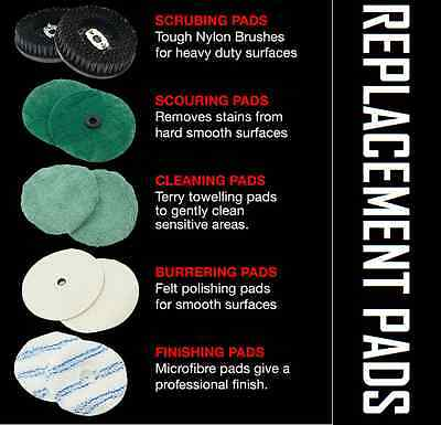 Replacement Pads for 5in1 floor polisher, Spare parts only!