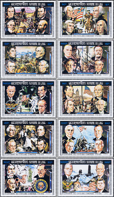 200 Years of Independence of the United States of America (MNH)