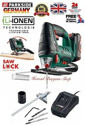 Top Quality Powerful 20V Li-Ion Cordless Jigsaw (storage Case,Battery & Charger)
