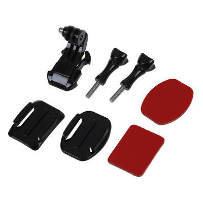 Helmet Front Mount Kit Adjustment Curved Adhesive for Gopro Hero 1/2/3 WS