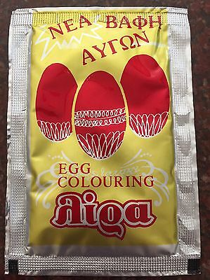 Egg Colouring (Red) - Orthodox Easter - Easy To Use
