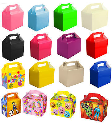 Childrens Kids Party Lunch Boxes Takeaway Boxes Birthday Wedding Food  Meal Boxs