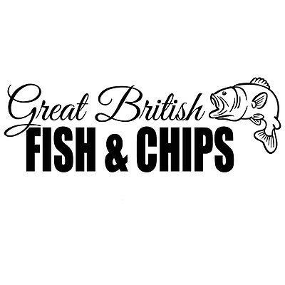 Fish And Chips Shop Sticker
