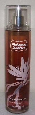 Bath & Body Works Mahogany Teakwood Fine Frag. Mist F/size Great Scent L@@k!