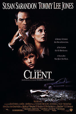 The Client (1994) Original Movie Poster  -  Rolled