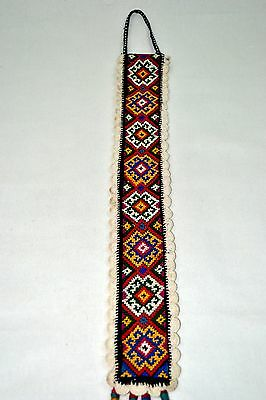Old Hand Made Woven Wall Hanging Antique Pure Silk Suzani Vintage Embroidery 202