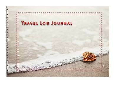 Caravan or Motorhome Owners, Travel Record Log & Journal - Seashell on a Beach 4