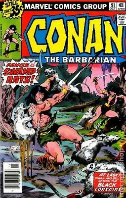 Conan the Barbarian (1970 Marvel) #91 FN (C-10)