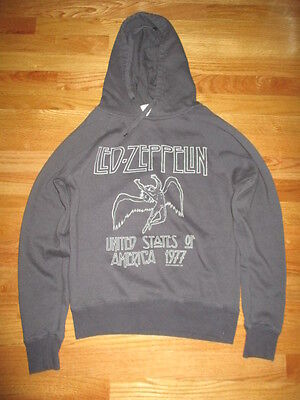 1977 LED ZEPPELIN Swan Song UNITED STATES of AMERICA Tour (SM) Sweatshirt