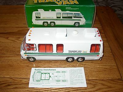 78/80 Hess Toy Truck Training Van In Original Box W/ Inserts Excellent Condition