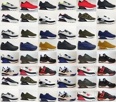 Premium Quality Mens Shoes Gym Trainers Air Shock Running Womens Boots Size 5578