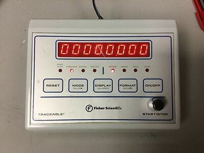 Fisher Scientific 06-662-1 Precision Laboratory Bench Timer Traceable Lot Of 2