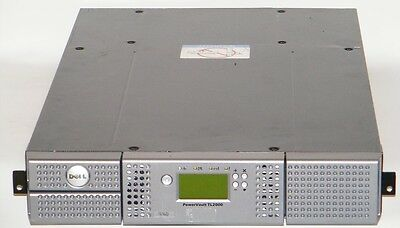 Dell Powervault Tl2000 Lto-5 Tape Library 95P7678 Gfy24 No Drives Included.