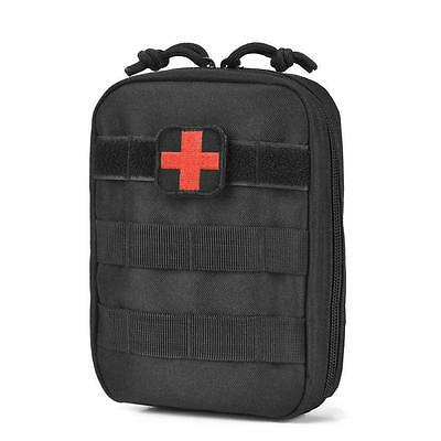 Tactical Medical Pouch EMT Molle Kit Tourniquet Military Trauma First Aid Black