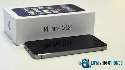 Apple iPhone 5s - 16GB - Space Grey (Unlocked) Smartphone. New Boxed and Sealed
