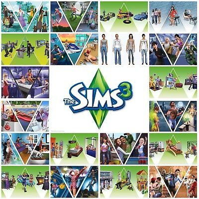 The Sims 3 | Huge variety of Expansions & Stuff Packs | Origin Download Key