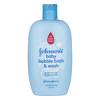 NEW Johnson's Baby Bubble Bath And Wash Gentle For Every Day Use 443ml