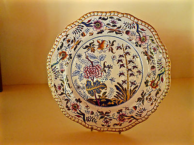 Antique Spodes New Stone Dinner Plate c1815