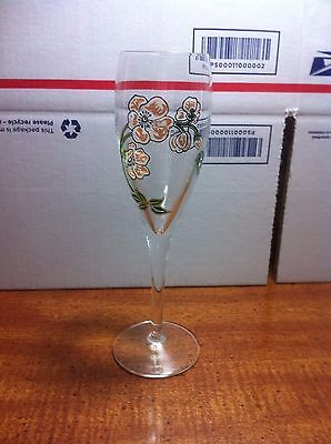 Perrier Jouet Flute Glasses Champagne Hand Painted Fast Shipping!