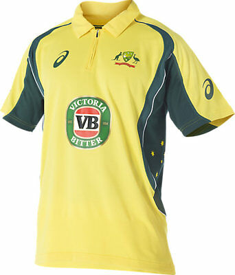 2017 Mens New Cricket Australia Replica ODI Home Shirt S-3XL