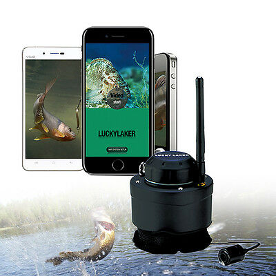 LUCKY 80M Wireless Fishing Cameras for Android IOS Fish Finders Portable 125Khz