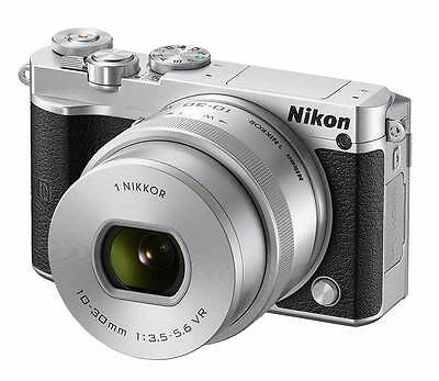 BLACK FRIDAY Nikon 1 J5 Mirrorless Digital Camera with 10-30mm Lens - Silver