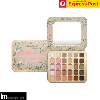 Too Faced Natural Love Eyeshadow Collection - Ultimate Neutral Palette - New
