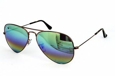 Ray Ban Sonnenbrille / Sunglasses RB3025 AVIATOR LARGE METAL 9018/C3 + Etui
