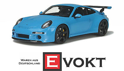 """GT Spirit GT113 # RUF RTR 2015 in """"blue"""" 1:18 Limited 991 pieces !!"""