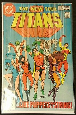 The New Teen Titans #9 2Nd Appearance Of Deathstroke Dc Key Batman Movie Soon!