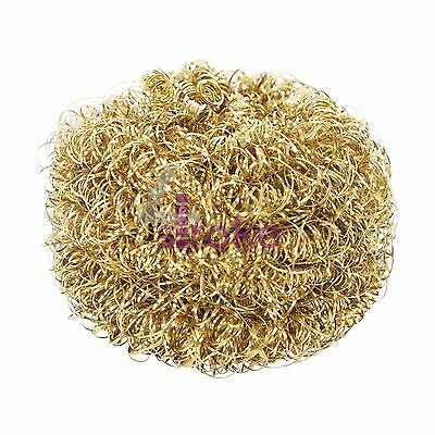 Soldering Tip Cleaning Ball Refill - 50mm Brass Wool Cleans Without Water