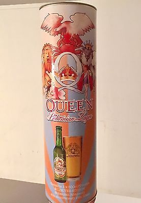 Queen Limited Edition 40th Anniversary Bohemian Beer Lager Set Tin