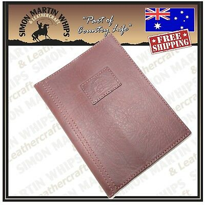 Traveler's Notebook A5 Leather Journal Diary Book Cover BROWN