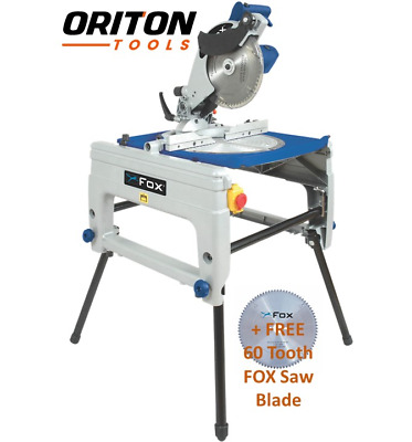 FOX F36-610 Flip Over Saw - 240v + FREE FOX 60 Tooth Saw Blade