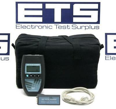 Microtest MicroScanner Network Cable Tester Fluke Networks
