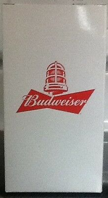Budweiser Collectible RED LIGHT APP Glass, Goal Synced Cup, Brand New!