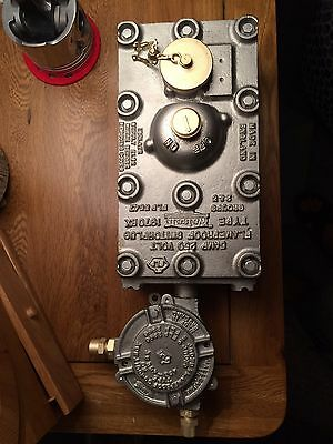 Vintage Industrial Walsall Switch and Plug Rare Complete Unit