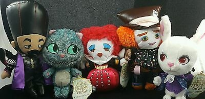 "Disney Alice Through The Looking Glass Plush 6"" Ages 3+ Hard to Find"