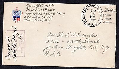 Jl Us Usa Censored Cover W/ Letter **sexist And Racist Letter From Ww2**