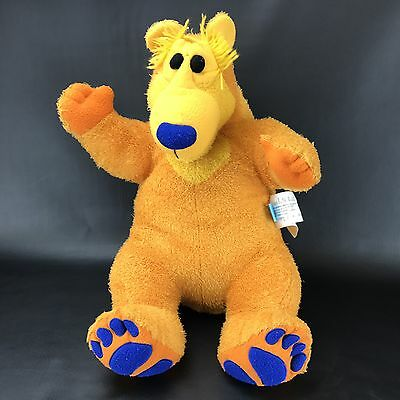 "Rare Jim Henderson Bear in the Big Blue House Plush Large 26"" Bear C9"