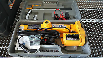 New Electric 2 Ton 12V Car Tire Change Scissor Lift Jack Kit